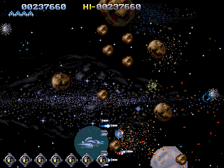 There's always an asteroid belt to navigate.
